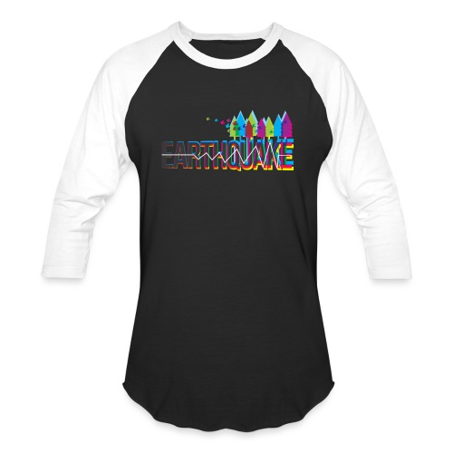 Earthquake - Baseball T-Shirt