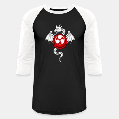 Dragon (W) - Larose Karate - Design Contest 2017 - Baseball T-Shirt
