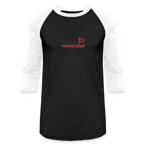Red Logo Rocket.Chat - Unisex Baseball T-Shirt