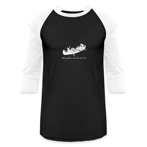 Chasse-galerie - T-shirt de baseball unisexe