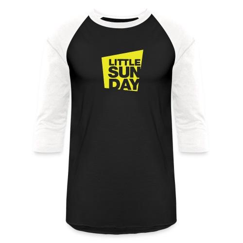 littleSUNDAY Official Logo - Unisex Baseball T-Shirt
