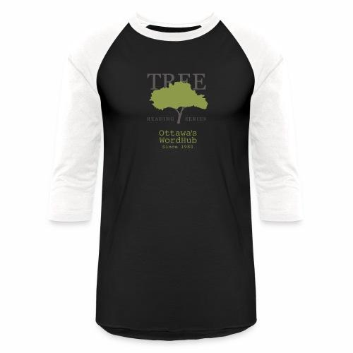 Tree Reading Swag - Unisex Baseball T-Shirt