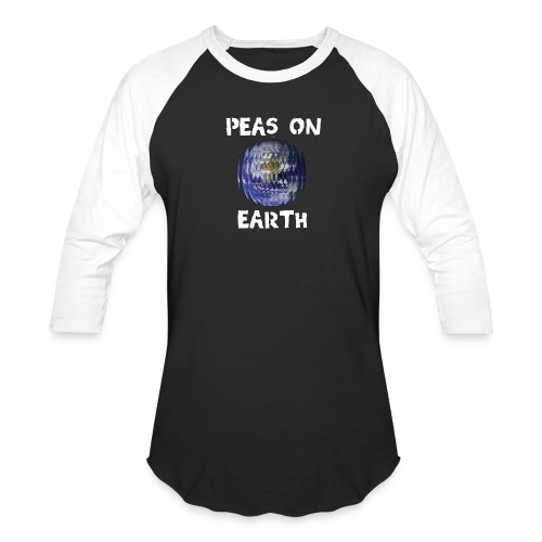 Peas on Earth! - Baseball T-Shirt