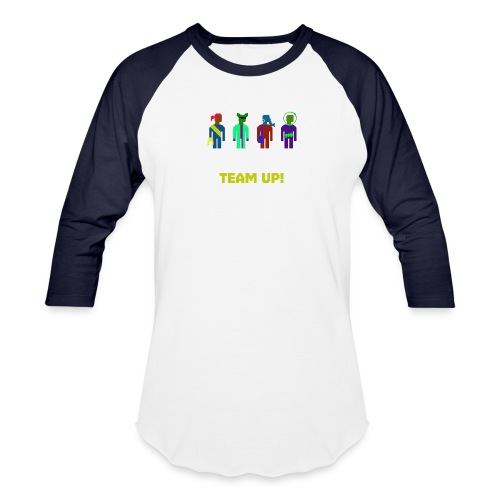 Spaceteam Team Up! - Baseball T-Shirt