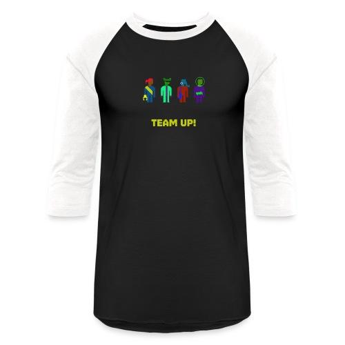 Spaceteam Team Up! - Baseball T-Shirt