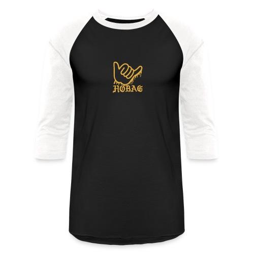 BLACK - HOBAG LOGO - Baseball T-Shirt