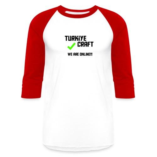 we are online boissss - Baseball T-Shirt