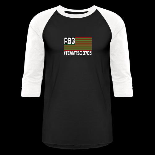 TeamTSC RBGFlag 2 - Baseball T-Shirt