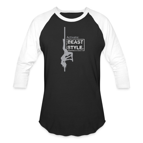 Activate: Beast Style - Unisex Baseball T-Shirt