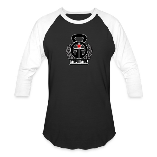 GiryaGirl.com Official Logo - Baseball T-Shirt