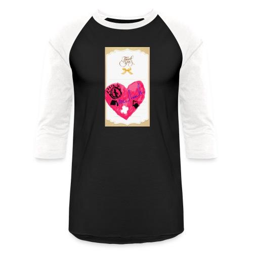 Heart of Economy 1 - Unisex Baseball T-Shirt