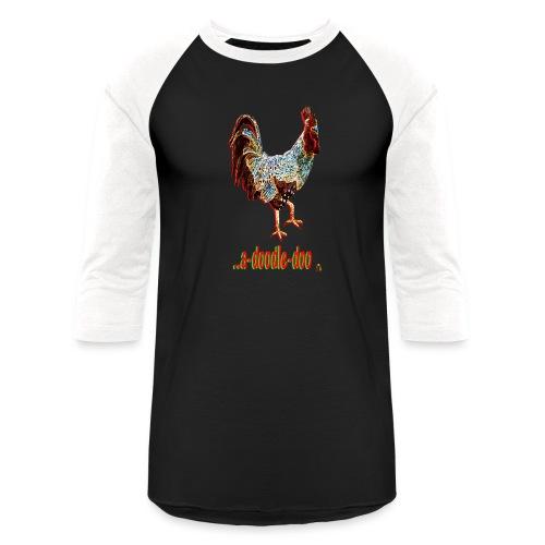 A Doodle Doo - Unisex Baseball T-Shirt