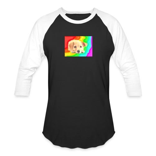 Puppy face - Baseball T-Shirt
