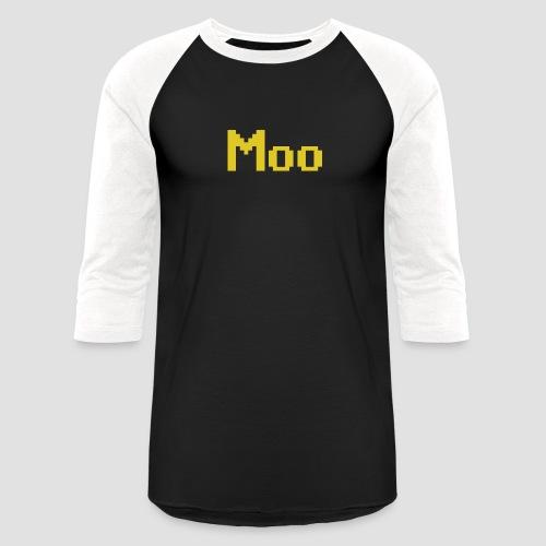 Moo - Unisex Baseball T-Shirt