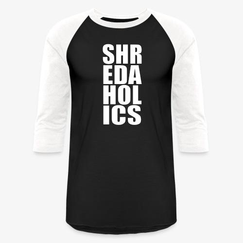 shred - Baseball T-Shirt