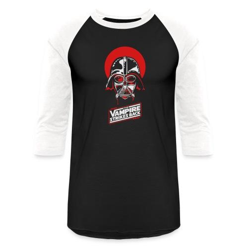 the Vampire Strikes Back - Baseball T-Shirt