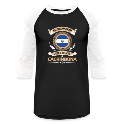 e2 1 el salvador gente cachinbona - Baseball T-Shirt