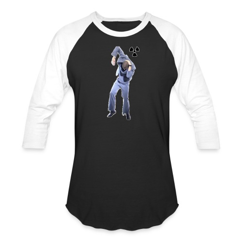 CHERNOBYL CHILD DANCE! - Unisex Baseball T-Shirt