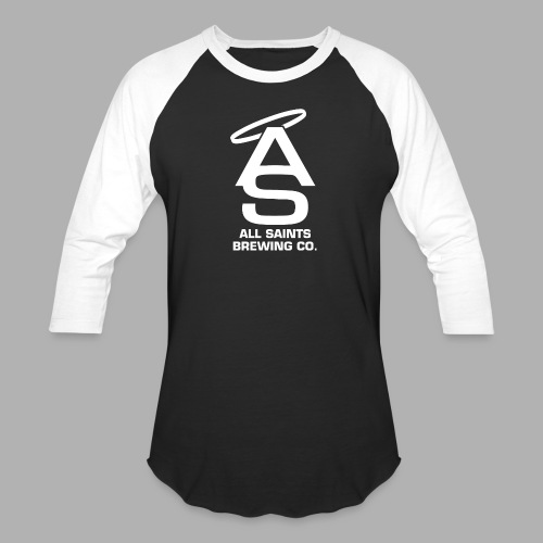 AS Logo white - Baseball T-Shirt