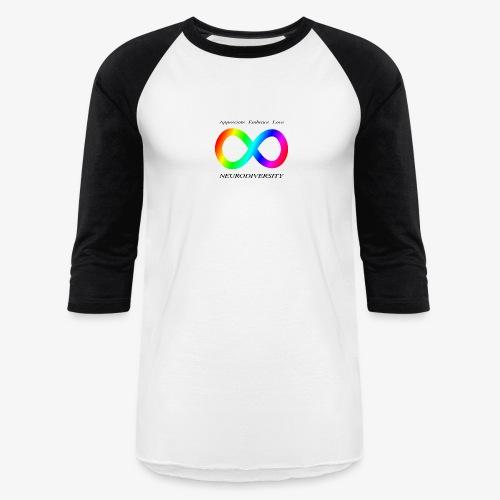 Embrace Neurodiversity - Baseball T-Shirt