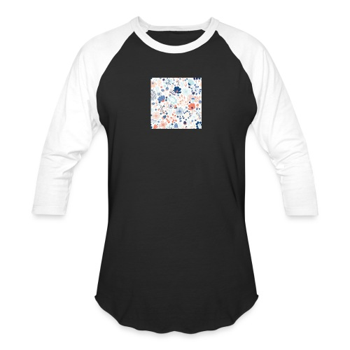 flowers - Baseball T-Shirt
