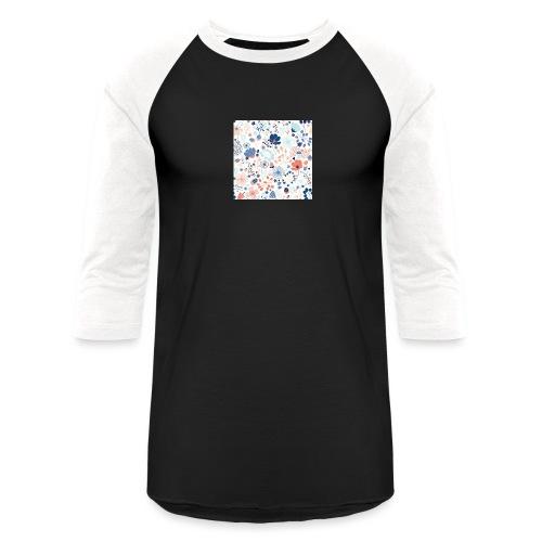 flowers - Unisex Baseball T-Shirt