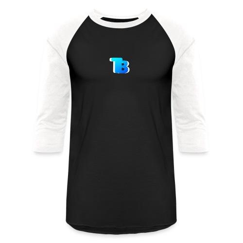 Trublu Overlapping letter Design - Baseball T-Shirt