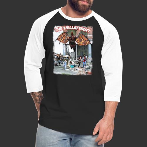 The Hellaphant Alternate Concept: Re-Issue - Unisex Baseball T-Shirt