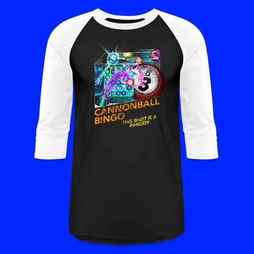 Vintage Cannonball Bingo Box Art Tee - Unisex Baseball T-Shirt
