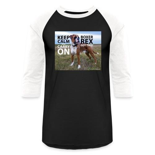 Keep calm and carry on - Baseball T-Shirt
