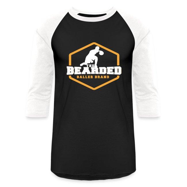 The Bearded Baller Brand White and Gold