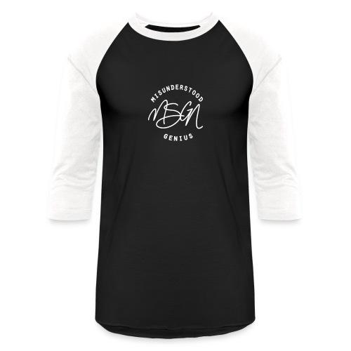 MSGN Logo - Unisex Baseball T-Shirt