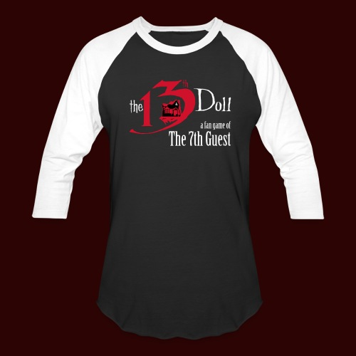 The 13th Doll Logo - Baseball T-Shirt
