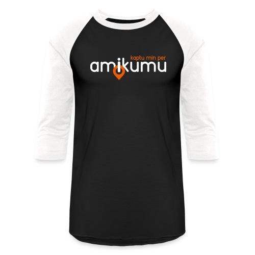 Kaptu min per Amikumu Blanka - Unisex Baseball T-Shirt
