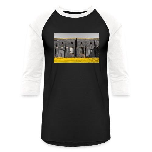 Bricks: who worked here - Baseball T-Shirt