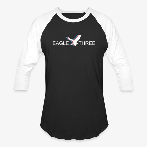 EAGLE THREE APPAREL - Baseball T-Shirt
