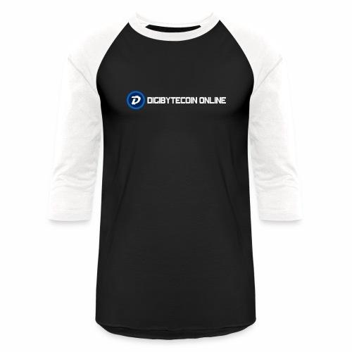 Digibyte online light - Baseball T-Shirt