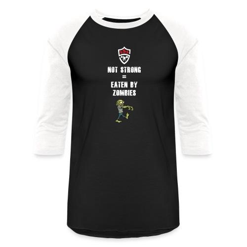Eaten By Zombies - Baseball T-Shirt
