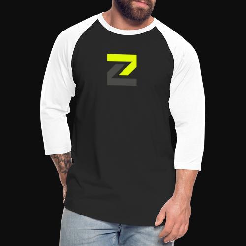 team Zecro official logo - Unisex Baseball T-Shirt