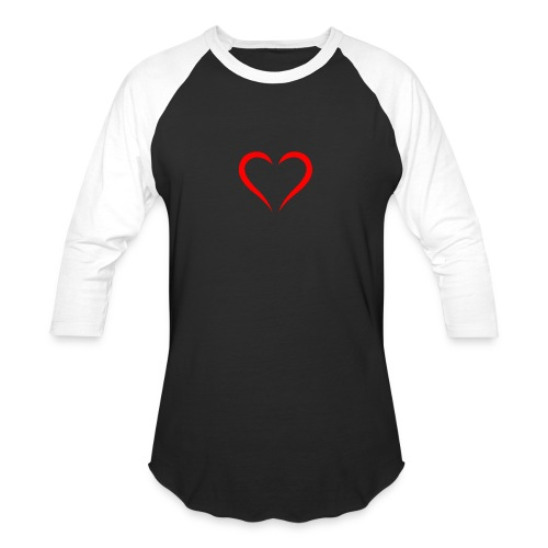 open heart - Baseball T-Shirt