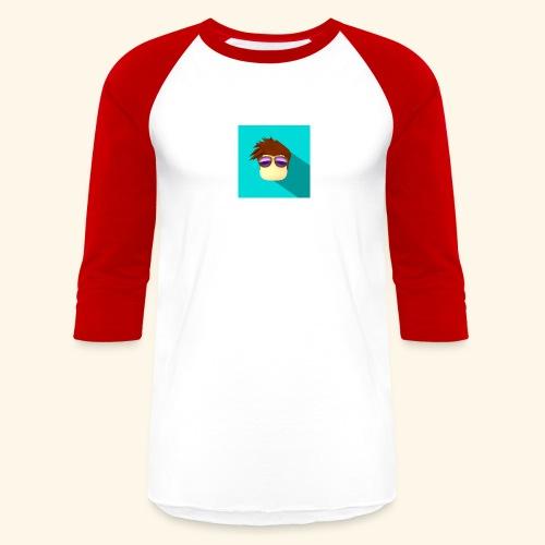 NixVidz Youtube logo - Baseball T-Shirt