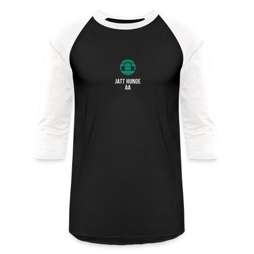 Jatt hunde aa - Unisex Baseball T-Shirt