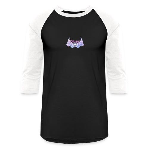 Derpy Main Merch - Baseball T-Shirt