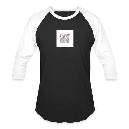 Sassy - Baseball T-Shirt