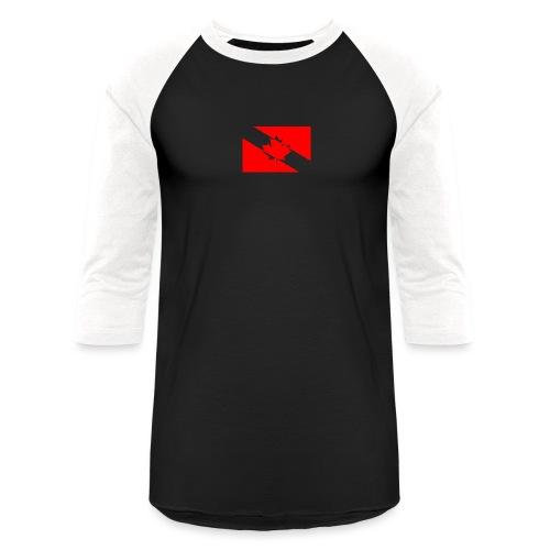 Clear White Dive Canada v. Small - Baseball T-Shirt