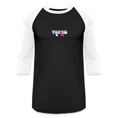 Flagsaged png - Unisex Baseball T-Shirt