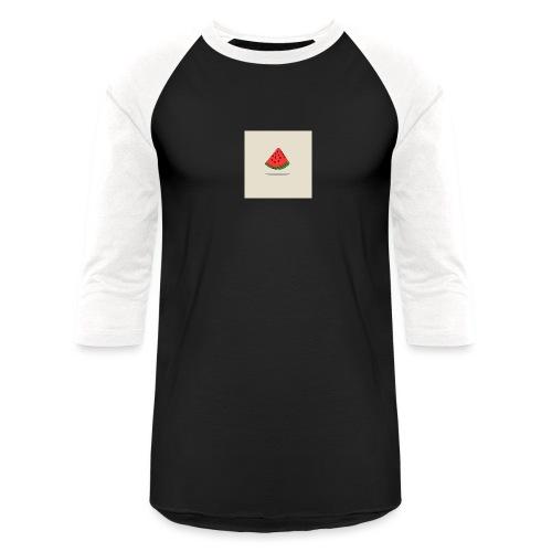 Coastal Watermelon - Baseball T-Shirt