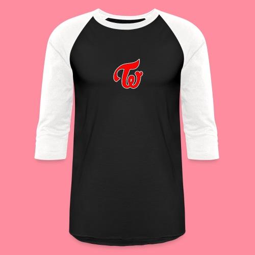 TWICE Logo - Baseball T-Shirt
