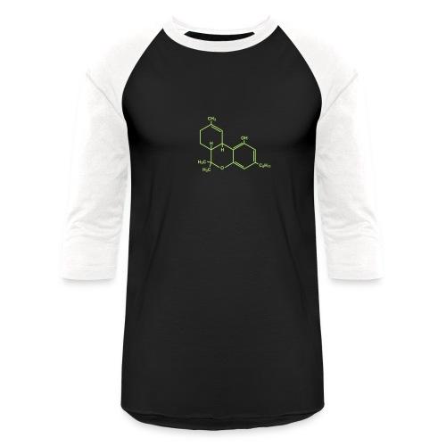 Marijuana (THC) Molecule - Baseball T-Shirt