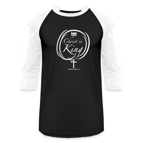 Chris is King - T-shirt de baseball unisexe